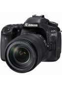 CANON DIGITAL EOS 80D (24.2 MEGAPIXELS) c/ obj. 18-135mm f/3.5-5.6 IS USM