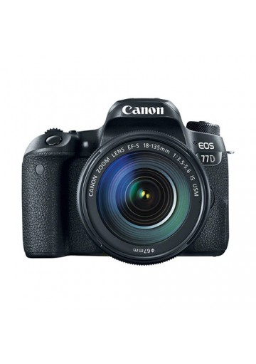 Canon Digital EOS 77D c/ Objetiva 18-135mm USM
