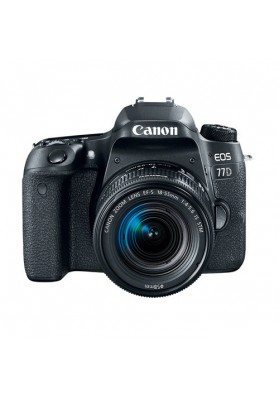 Canon Digital EOS 77D c/ Objetiva 18-55mm