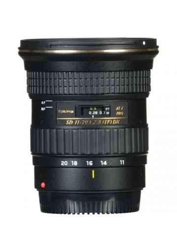 Tokina AT-X 11-20mm f/2.8 PRO DX p/ Canon EF