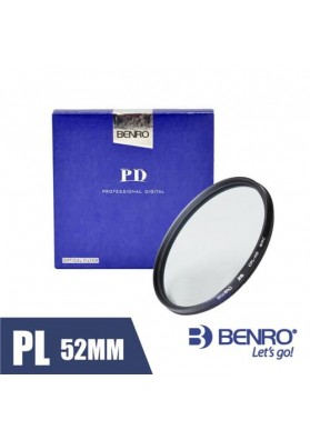 Filtro Benro Polarizador CPL HD 52mm