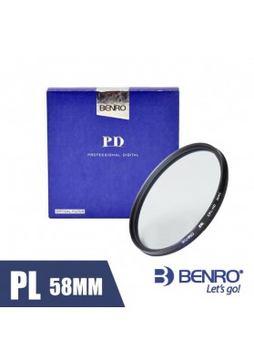Filtro Benro Polarizador CPL HD 58mm