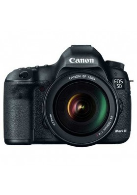 Canon Digital EOS 5D Mark III (22.3 Megapixels) c/ Obj. EF 24-105mm L IS USM