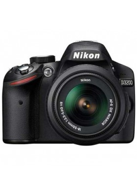 Nikon Digital D3200 (24.2 Megapixels) c/ Obj. 18-55mm VR