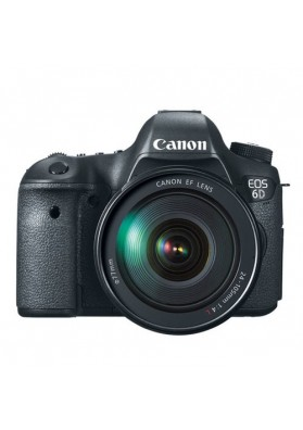 Canon Digital EOS 6D (20.2 Megapixels) c/ Objetiva 24-105mm f/4.0L IS USM