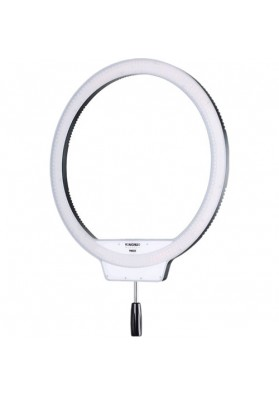 Iluminador Circular Yongnuo YN-608 (bicolor 3200k-5500k) com Fonte