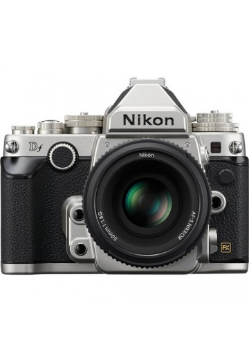 Nikon Digital DF DSLR (16.2 Megapixels) c/ obj. 50mm f/1.8