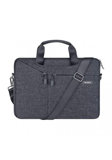 Case WIWU GENT BRIEF  p/ Laptop 15,6 (Cinza)